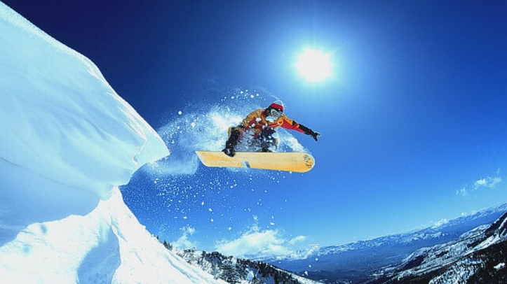 Snowboarding-Trick-Jump-Snow-Wallpaper